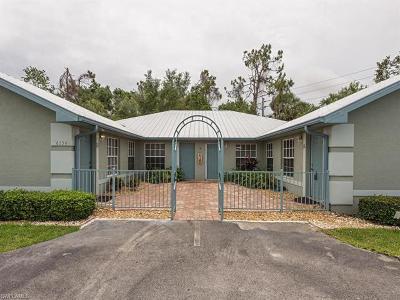 Naples Single Family Home For Sale: 6254 Vista Garden Way #A