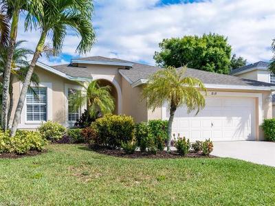 Naples Single Family Home For Sale: 818 Briarwood Blvd