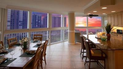 Condo/Townhouse For Sale: 4041 N Gulf Shore Blvd #802