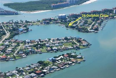Naples Single Family Home For Sale: 74 Dolphin Cir