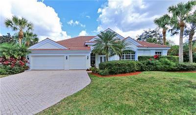 Naples Single Family Home For Sale: 637 Shoreline Dr