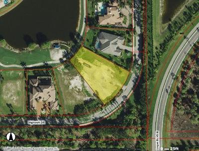 Naples Residential Lots & Land For Sale: 6399 Highcroft Dr