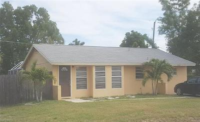 Naples Single Family Home For Sale: 1285 Ingraham St