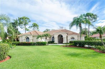 Naples Single Family Home For Sale: 2001 Deerfield Cir
