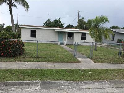 Fort Myers Single Family Home For Sale: 1664 Pawnee St