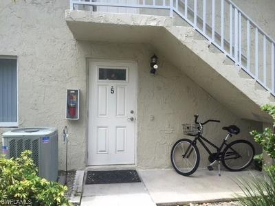 Naples Condo/Townhouse For Sale: 240 Palm Drive Dr #5