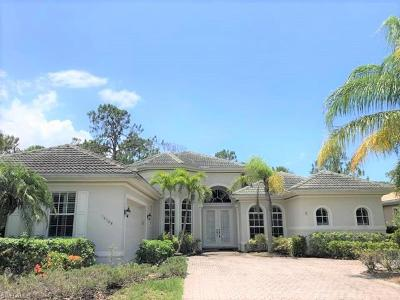 Naples Single Family Home For Sale: 16108 Parque Ln