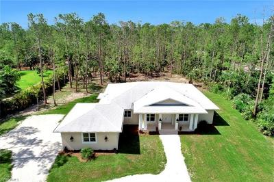 Naples Single Family Home For Sale: 5050 Teak Wood Dr