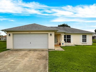 Fort Myers Single Family Home For Sale: 710 Altair Ave
