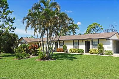 Naples Single Family Home For Sale: 1036 Pine Isle Ln #1036