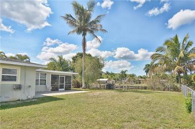 Fort Myers Single Family Home For Sale: 2129 Saint Croix Ave