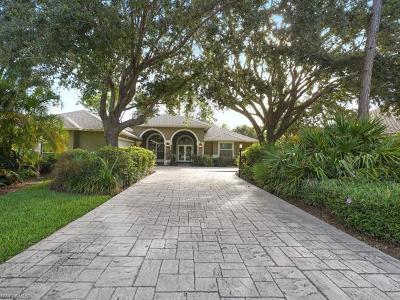Naples Single Family Home For Sale: 6816 Mill Run Cir