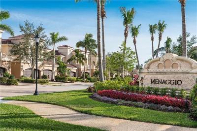 Naples Condo/Townhouse For Sale: 9289 Menaggio Ct #101