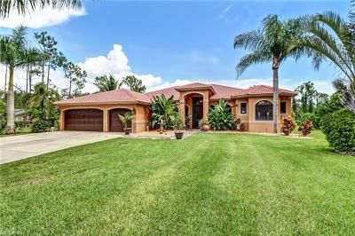 Naples FL Single Family Home For Sale: $699,999