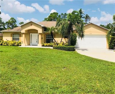 Golden Gate Estates Single Family Home For Sale: 4050 SW 11th Ave