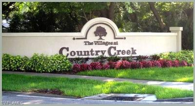 Estero Condo/Townhouse For Sale: 20691 Country Creek Dr #1313