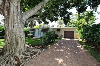 Naples Single Family Home For Sale: 1266 N 10th Ave