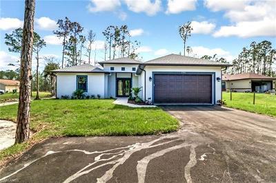 Golden Gate Estates Single Family Home For Sale: Xxx NE 50th Ave