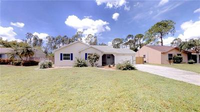 Fort Myers Single Family Home For Sale: 17296 Lee Rd