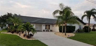 Cape Coral Single Family Home For Sale: 2109 SE 10th Ln