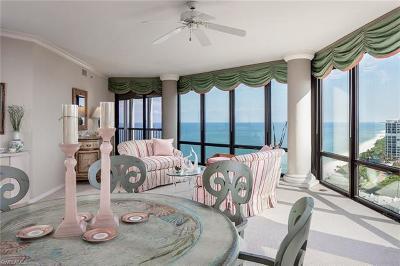 Naples Condo/Townhouse For Sale: 4951 N Gulf Shore Blvd #1604