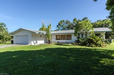 Fort Myers Single Family Home For Sale: 1571 Ricardo Ave