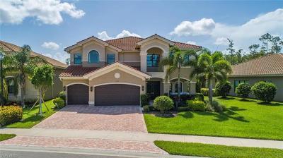 Naples Single Family Home For Sale: 3296 Atlantic Cir