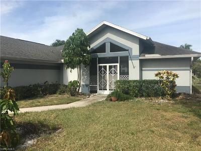 Naples Single Family Home For Sale: 3711 Kent Dr