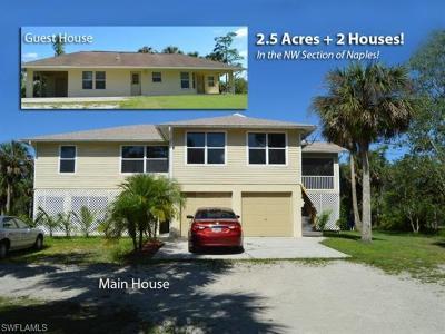 Naples FL Single Family Home For Sale: $559,000