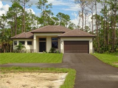 Naples Single Family Home For Sale: 646 SW 9th St