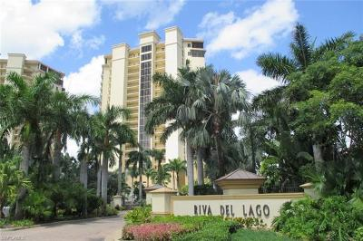 Fort Myers Condo/Townhouse For Sale: 14300 Riva Del Lago Dr #601
