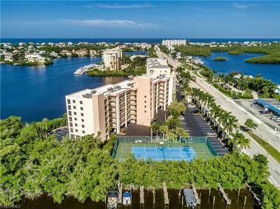Bonita Springs Condo/Townhouse For Sale: 4835 Bonita Beach Rd #605
