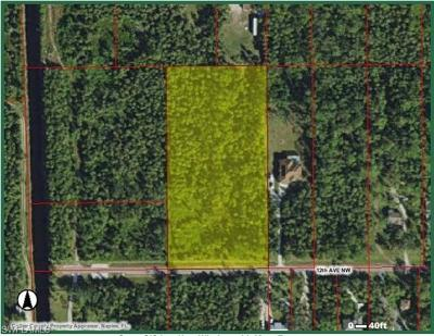 Naples Residential Lots & Land For Sale: Xxx NW 12th Ave
