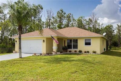 Naples Single Family Home For Sale: 4335 NE 43rd Ave