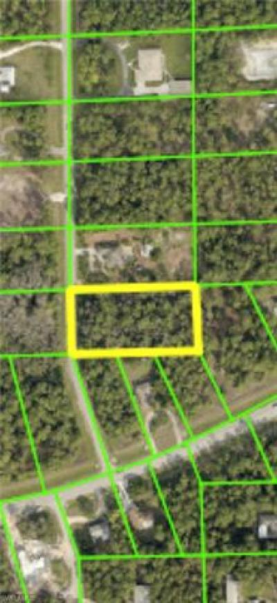 Bonita Springs Residential Lots & Land For Sale: 24777 Claire St