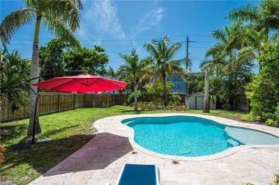 Naples Single Family Home For Sale: 629 N 10th St