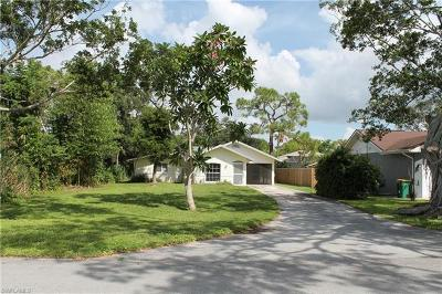 Bonita Springs Single Family Home For Sale: 187 2nd St