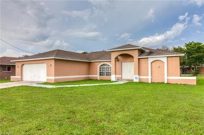 Cape Coral Single Family Home For Sale: 249 Santa Barbara Blvd