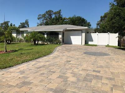 Fort Myers Single Family Home For Sale: 8607 E Park