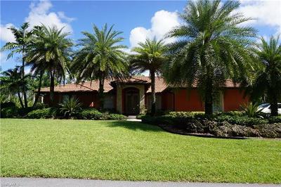 Naples Single Family Home For Sale: 3120 Safe Harbor Dr