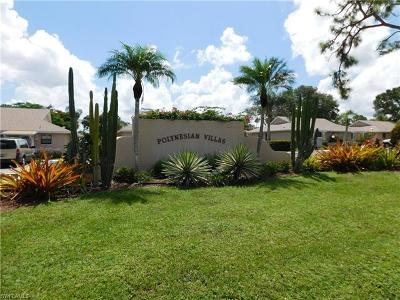Bonita Springs Single Family Home For Sale: 27670 South View Dr #148
