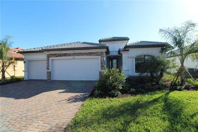 Fort Myers Single Family Home For Sale: 10671 Prato Dr