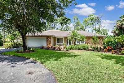 Naples Single Family Home For Sale: 5095 Tallowood Way