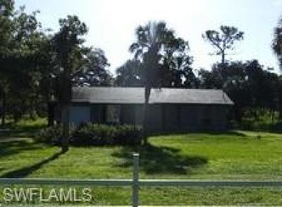 Golden Gate Estates Single Family Home For Sale