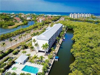 Bonita Springs Condo/Townhouse For Sale: 5220 Bonita Beach Rd #110
