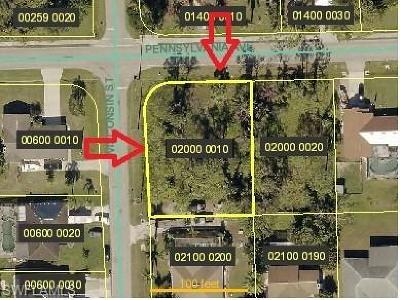 Bonita Springs Residential Lots & Land For Sale: 9750 Pennsylvania Ave