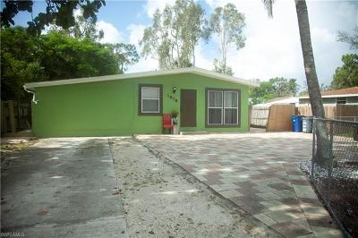 Fort Myers Single Family Home For Sale: 1838 Palm Dr
