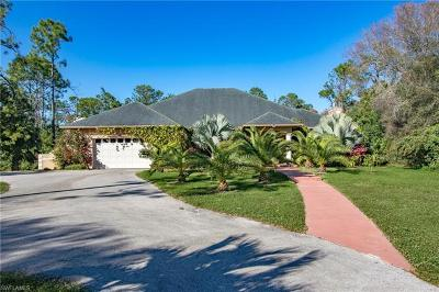 Naples Single Family Home For Sale: 3681 SW 7th Ave