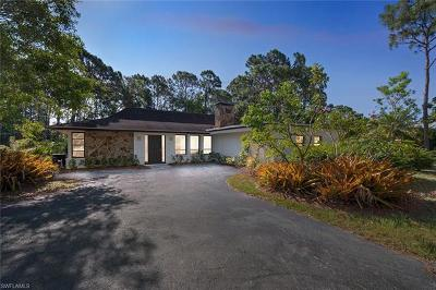 Naples Single Family Home For Sale: 6640 Trail Blvd