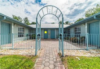 Naples Single Family Home For Sale: 6260 Vista Garden Way #C